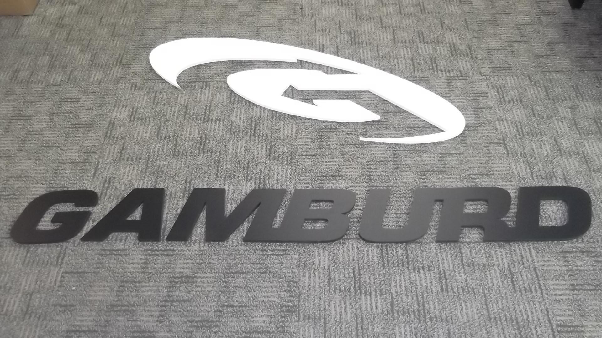 Gamburd PVC Sign