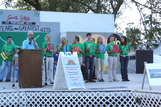 South Dakota State Fair Foundation Kicks Off Capital Campaign - $1,183,250 Raised