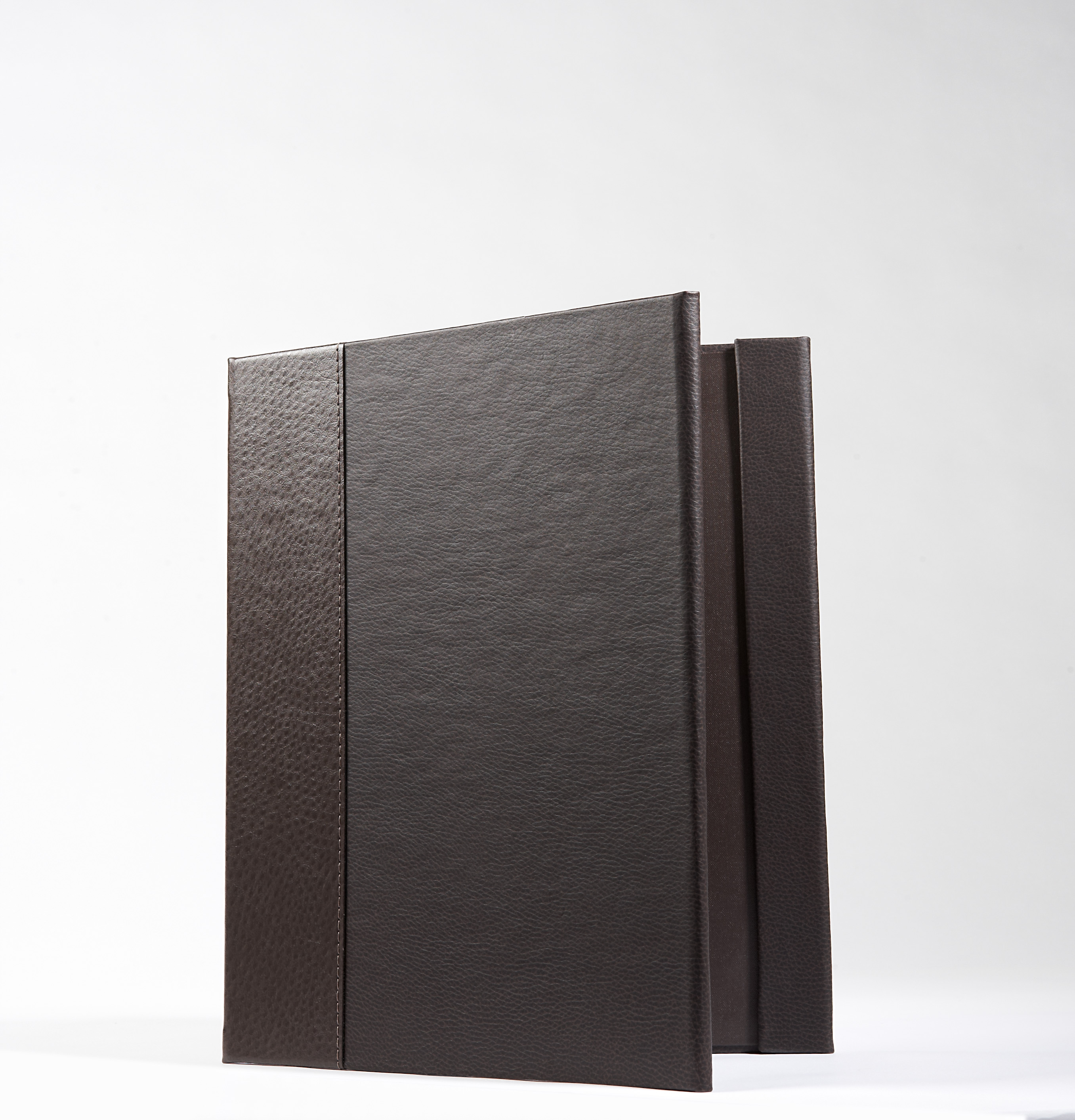 Folder - Brown Leather