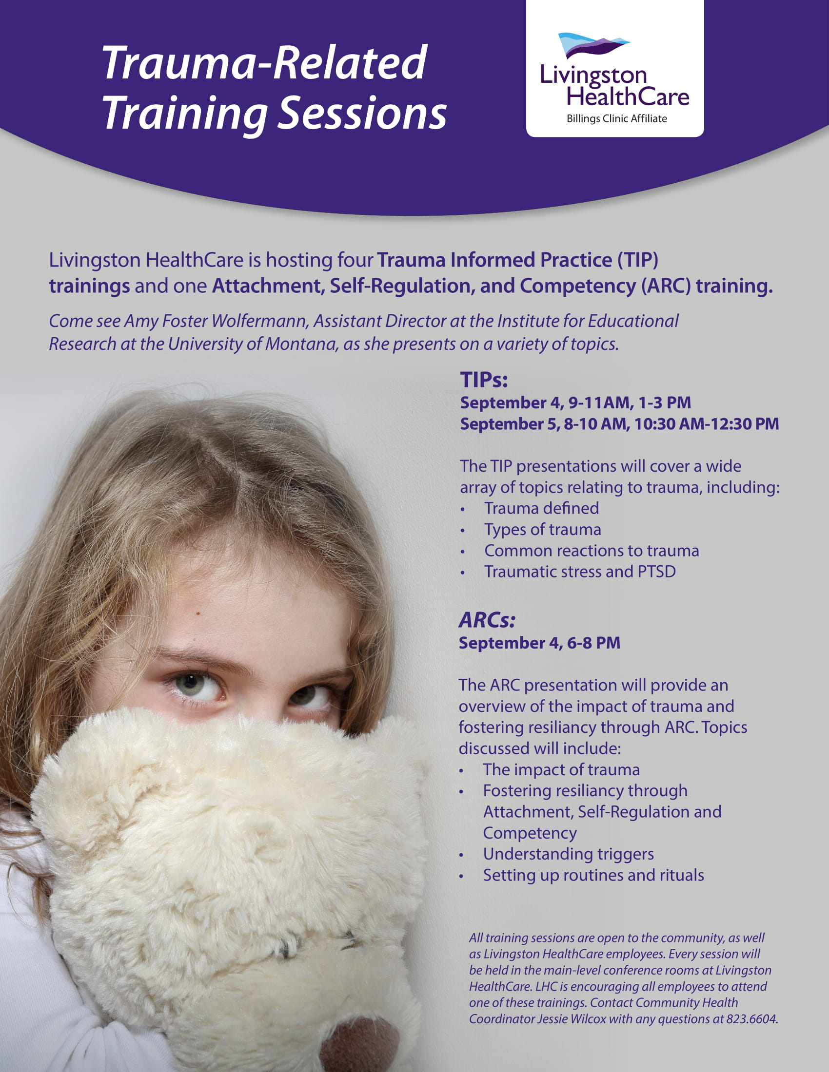 ARC (Attachment, Self-Regulation and Competency) Training