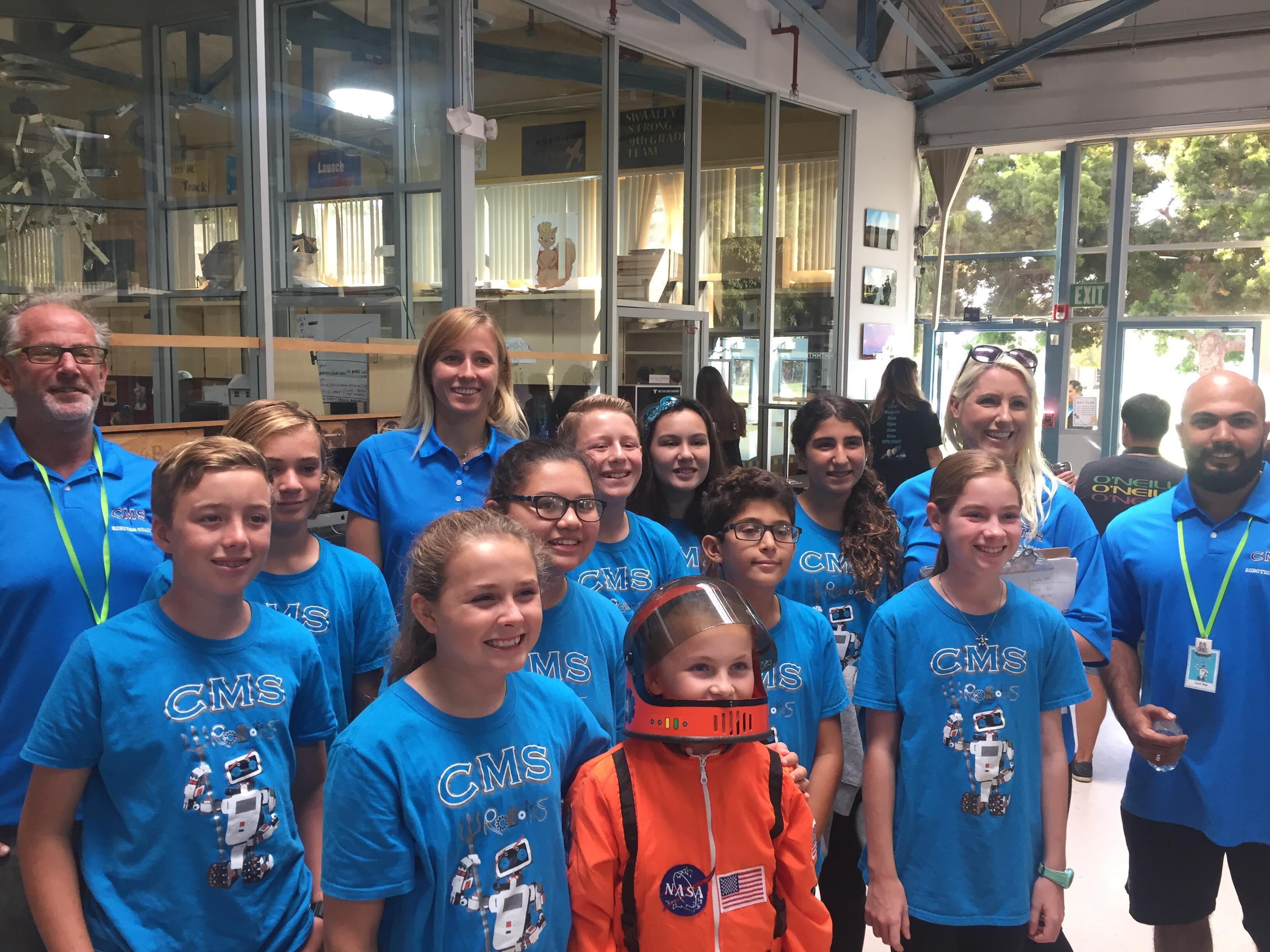 CMS Robotics Teams Are Thriving