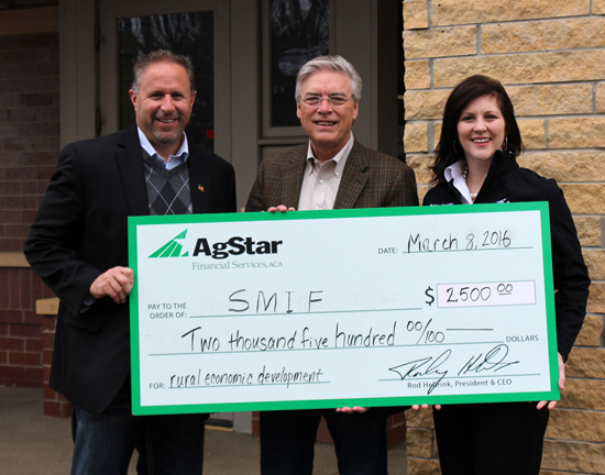 AgStar Contributes $2,500 to Southern Minnesota Initiative Foundation