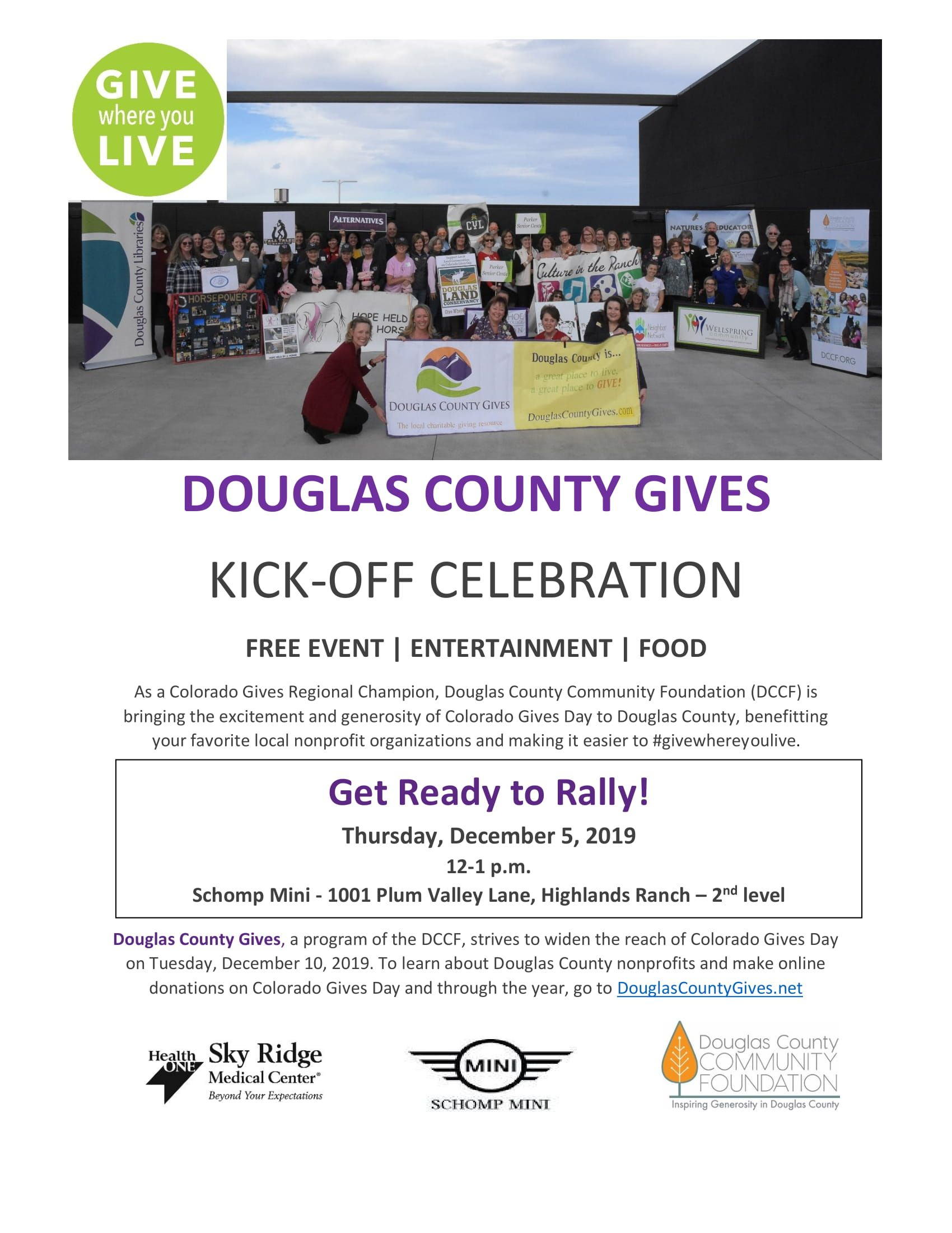 DC Gives Rally - flyer
