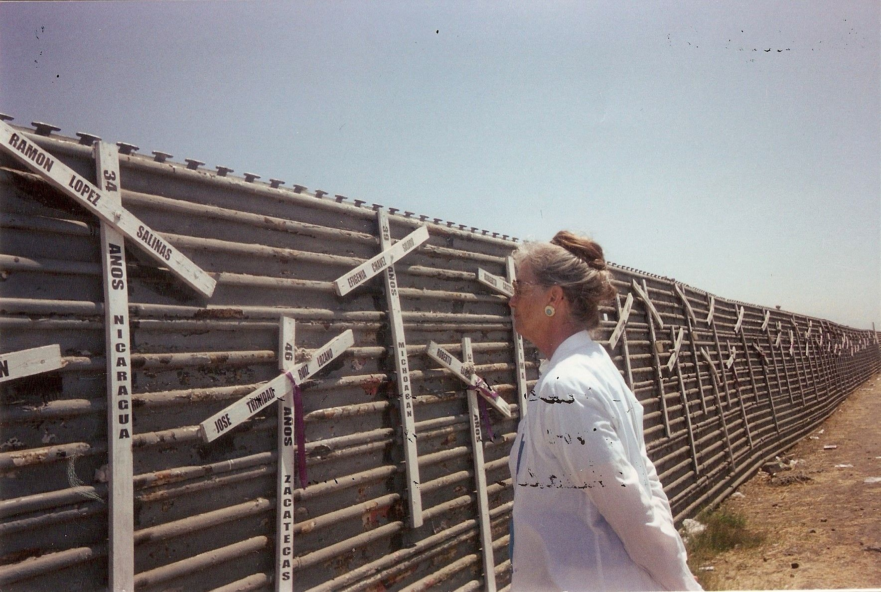 Sister Lorraine Ryan at the Border