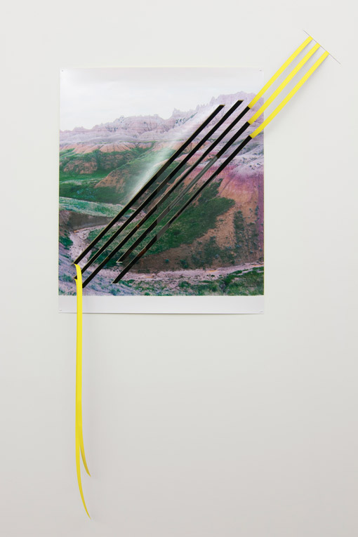 Letha Wilson, Badlands Wall Rip (2011)