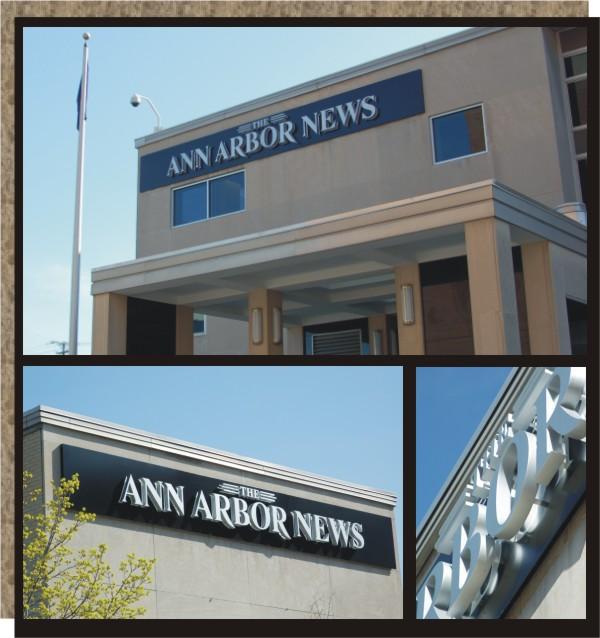 Ann Arbor News Exterior