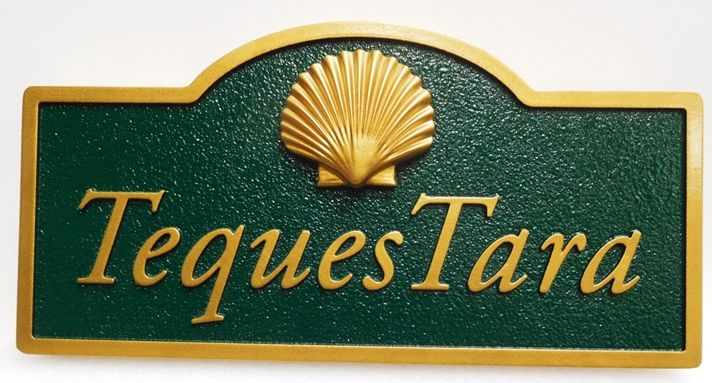 L21541 - Design of an Address Sign with 3D Carved Shell