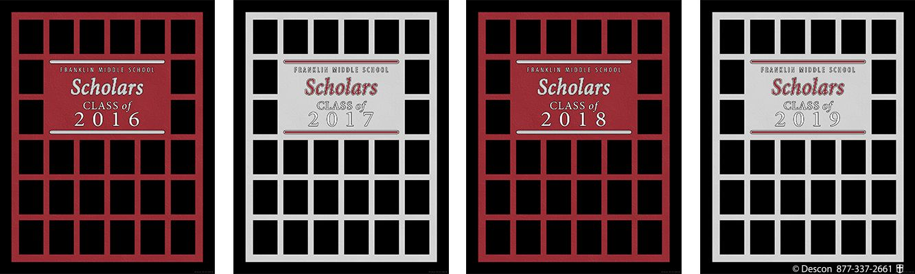 Student Scholar Frames Package