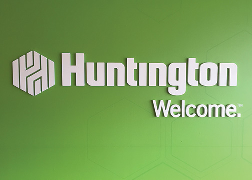 Huntington Bank Dimensional Lettering Paul Brown Stadium 1