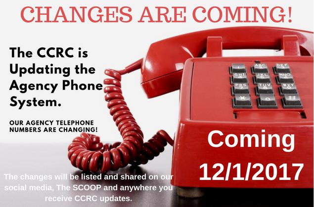 Telephone changes