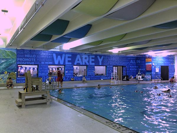 Buehler Y pool wall