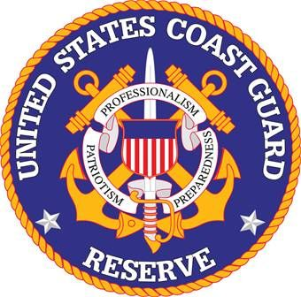 NP-1300- Carved Plaque of the Great Seal of the US Coast Guard Reserve, 2.5-D Artist Painted
