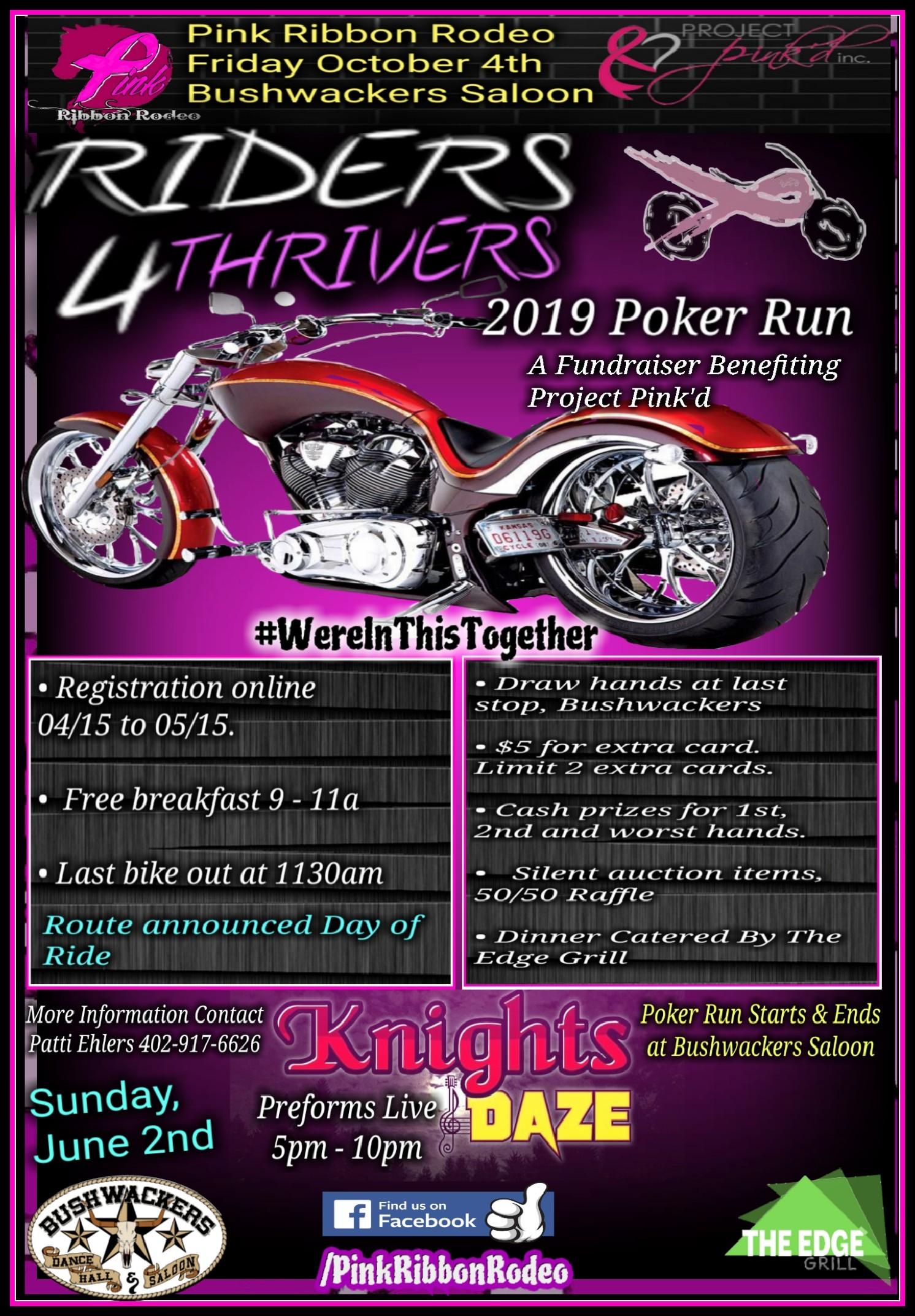 Pink Ribbon Rodeo Poker Run