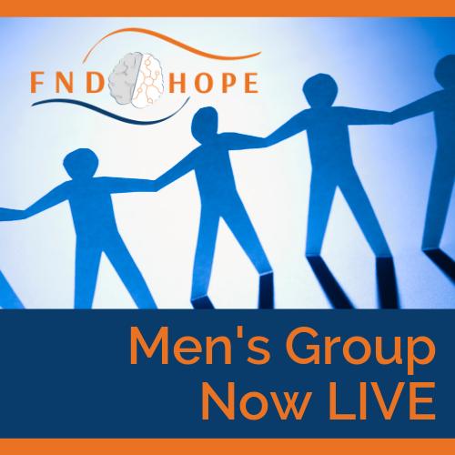 FND Hope Men's group now Live