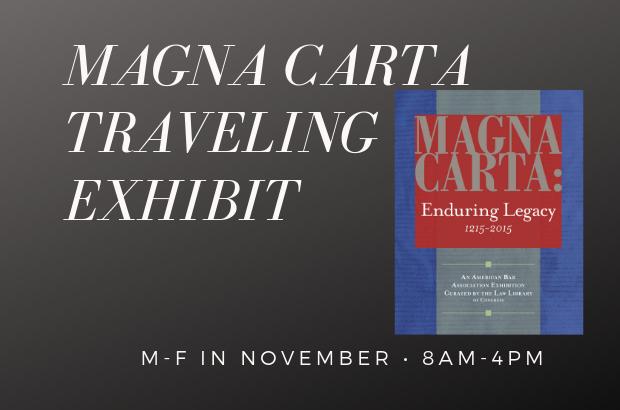 Magna Carta Traveling Exhibit