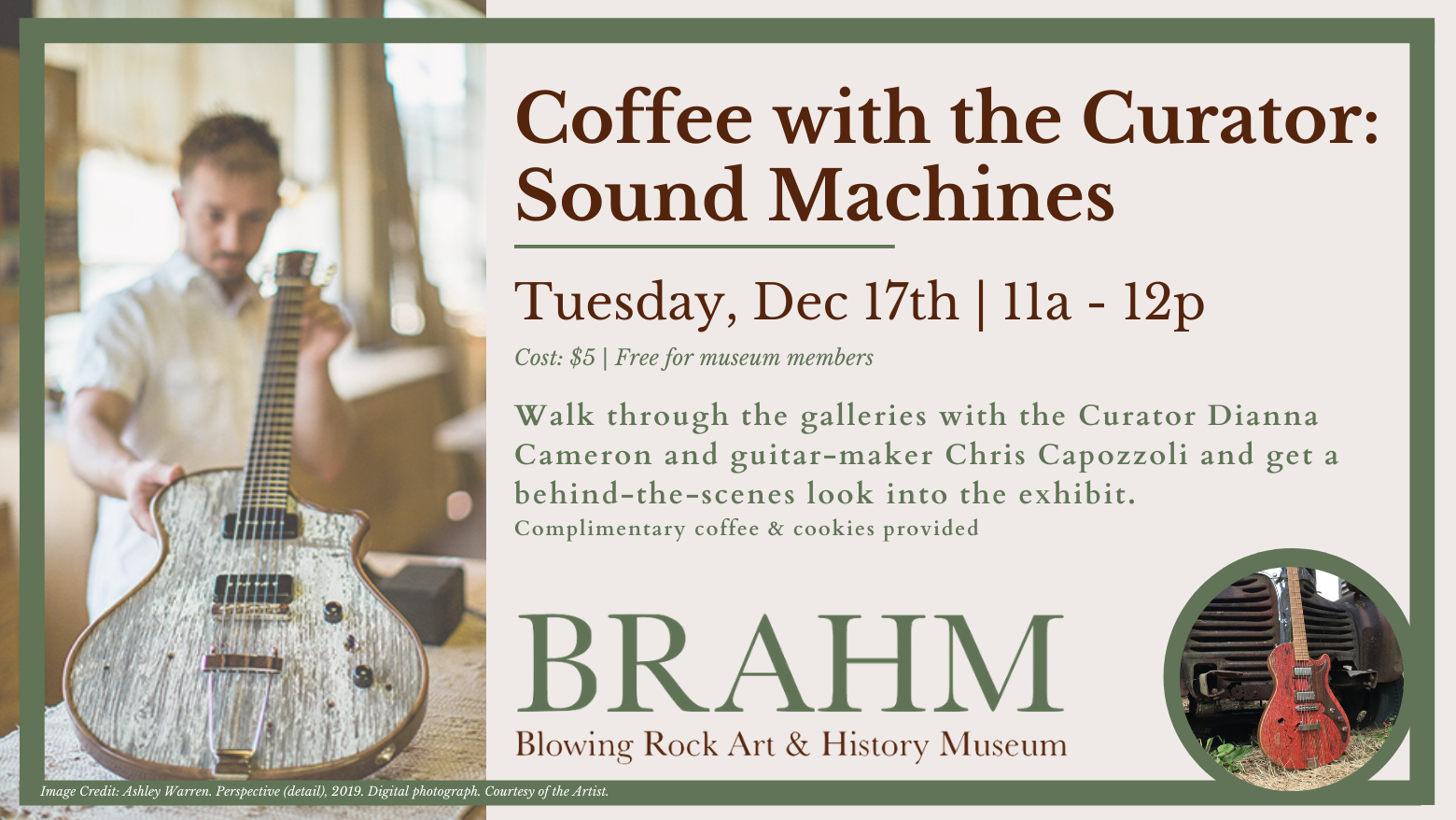 Coffee with the Curator: Sound Machines