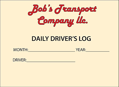 Daily Driver's Log Cover Color Logo