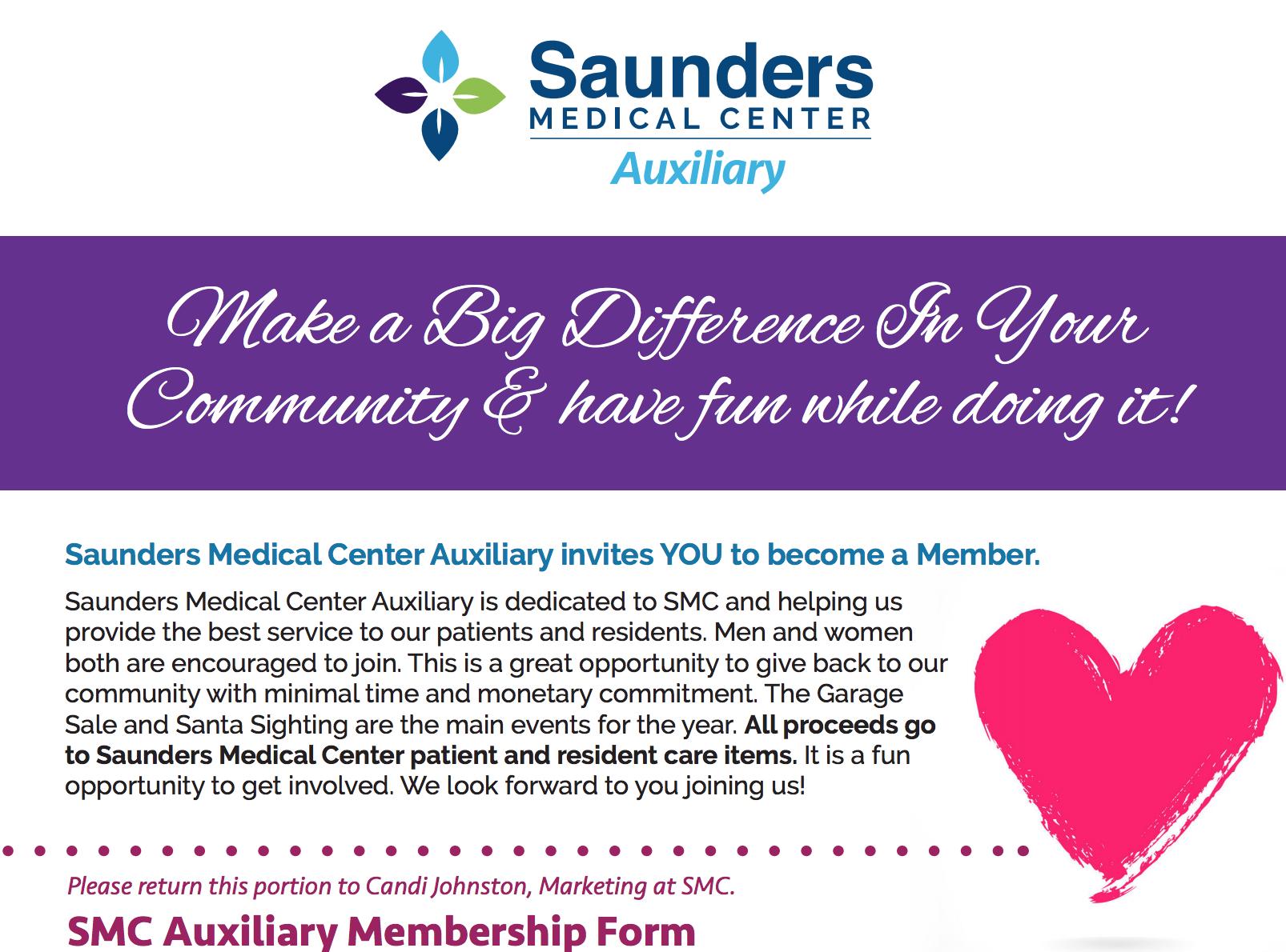 SMC Auxiliary Membership Form
