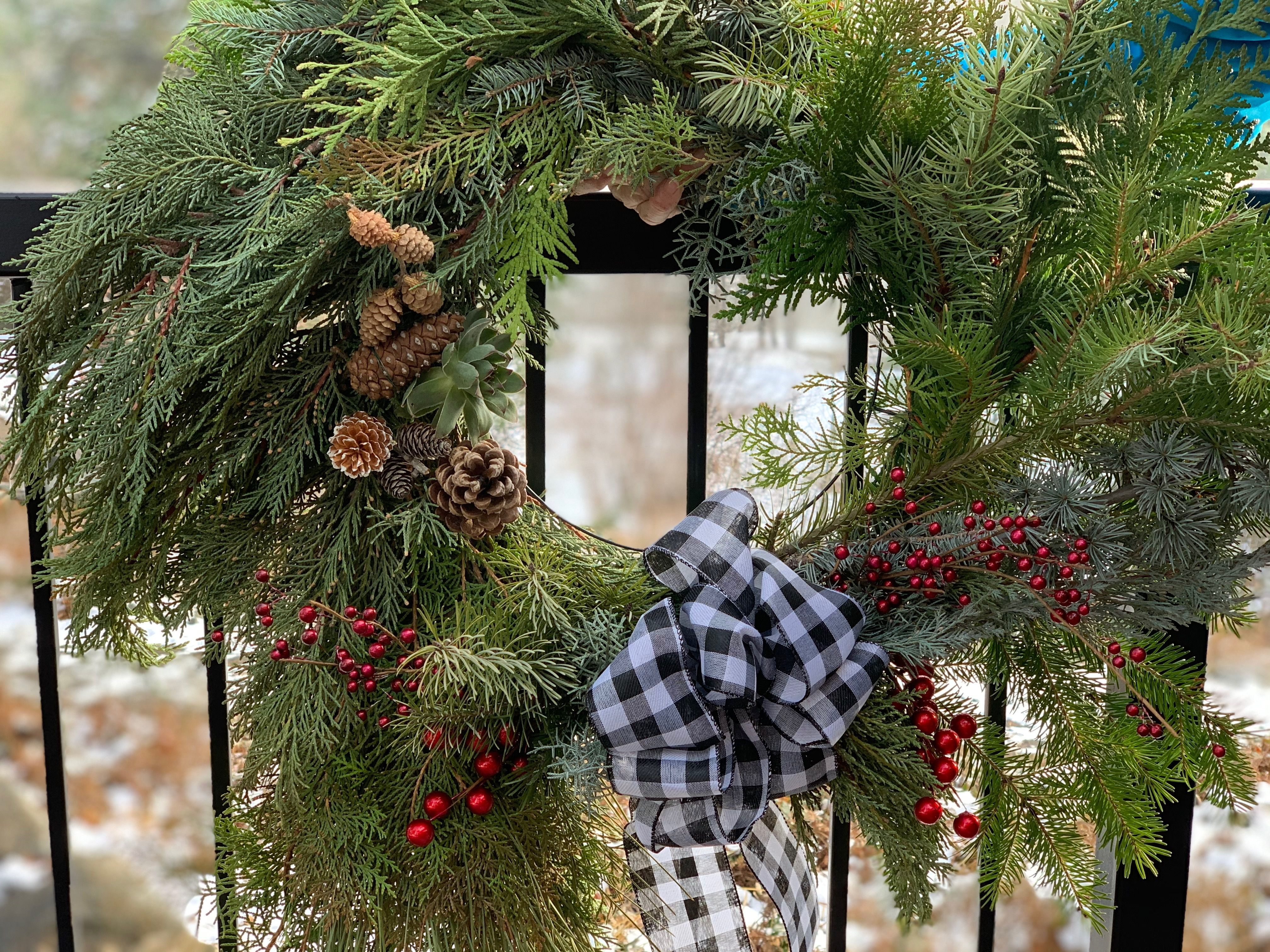 Winter Wreath - DIY Packets