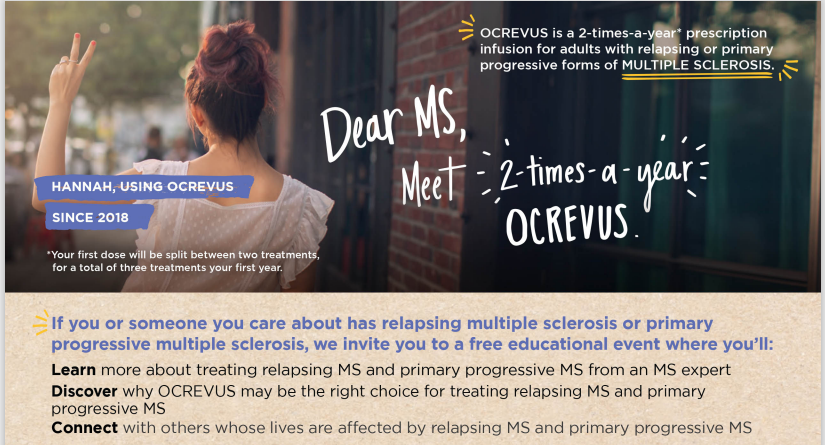 Register For Ocrevus Online Seminar