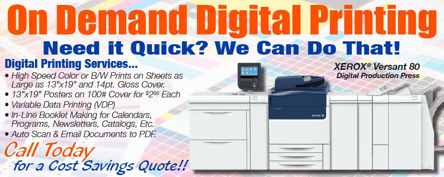 Digital Printing Xerox