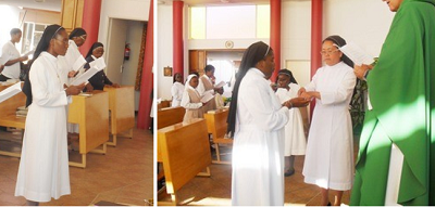 Namibian Sisters Sent to Overseas Mission