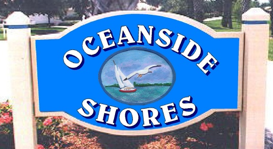 M5120 - Routed Seashore Community Entrance Sign