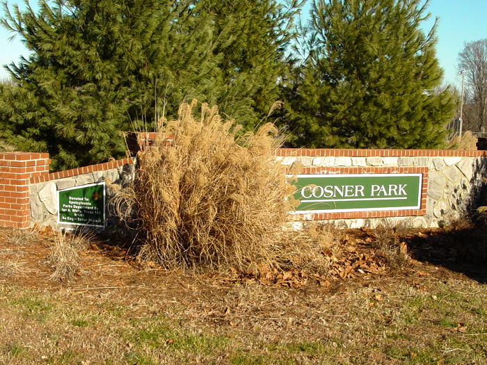 Cosner Park Community Sign