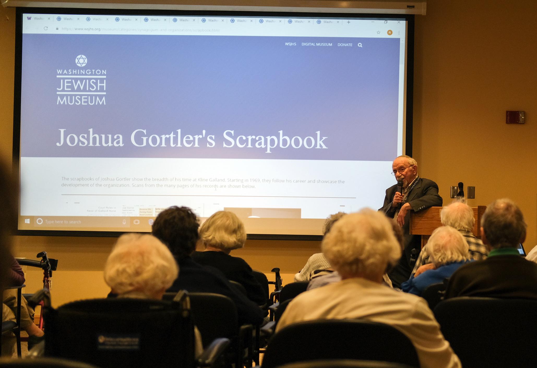 Joshua Gortler speaking