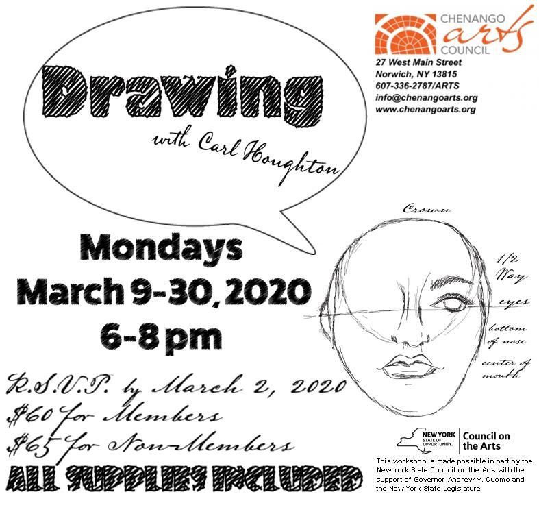 Drawing with Carl Houghton