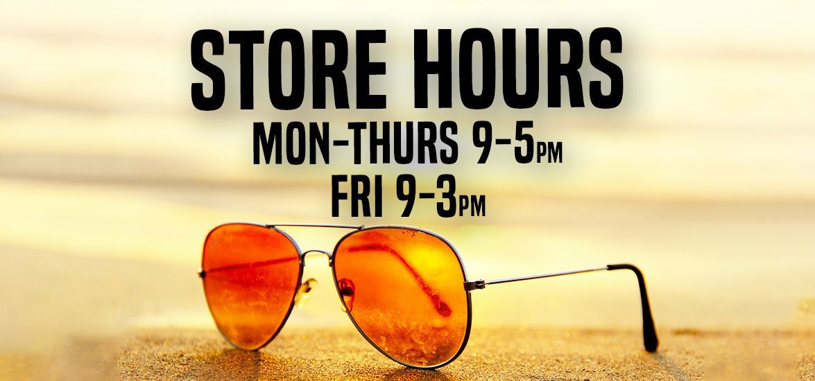 Store Hours Summer