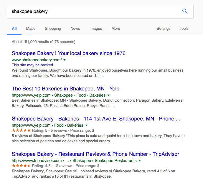 mn small business search results