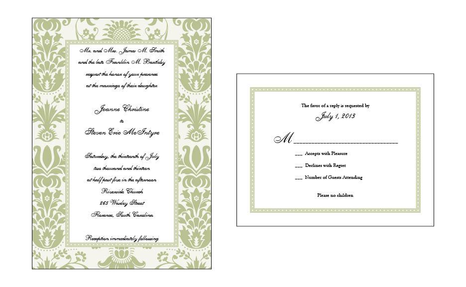 Wedding Set #7