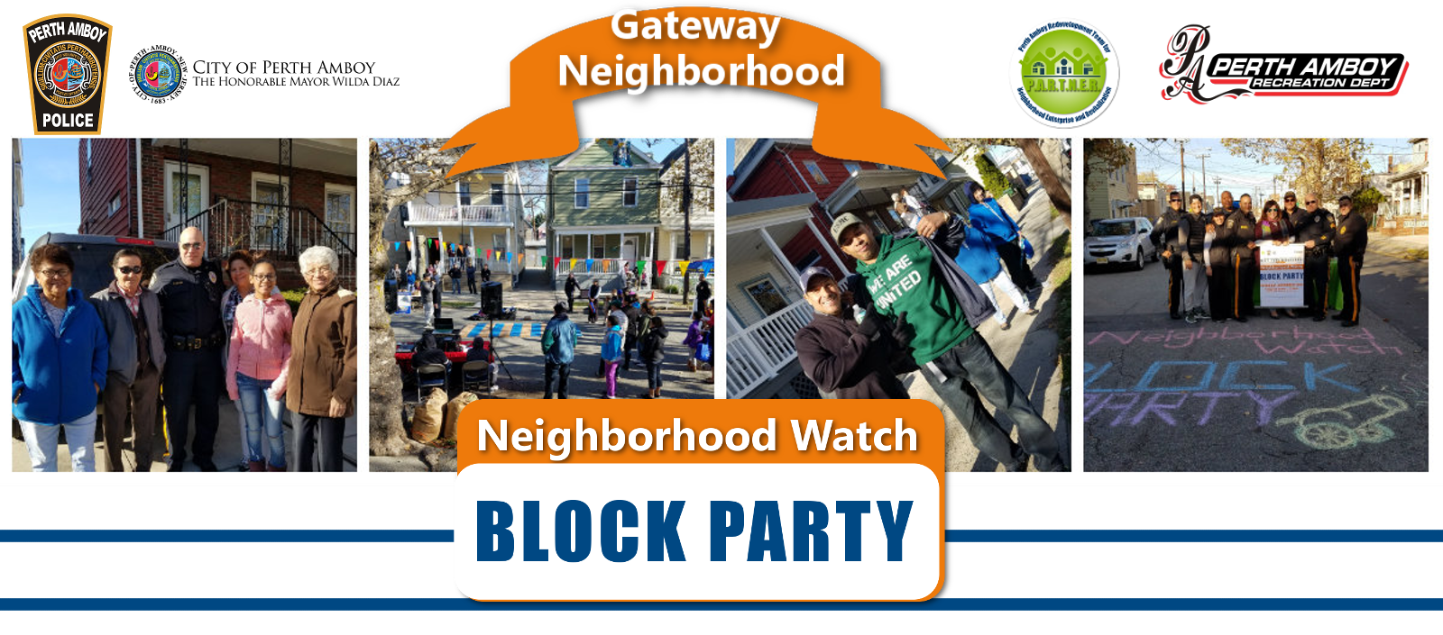 Neighborhood Watch Block Party