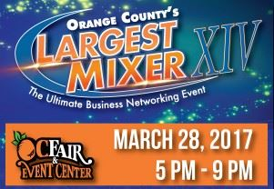 2017 Orange County Largest Mixer - Click on ad for info