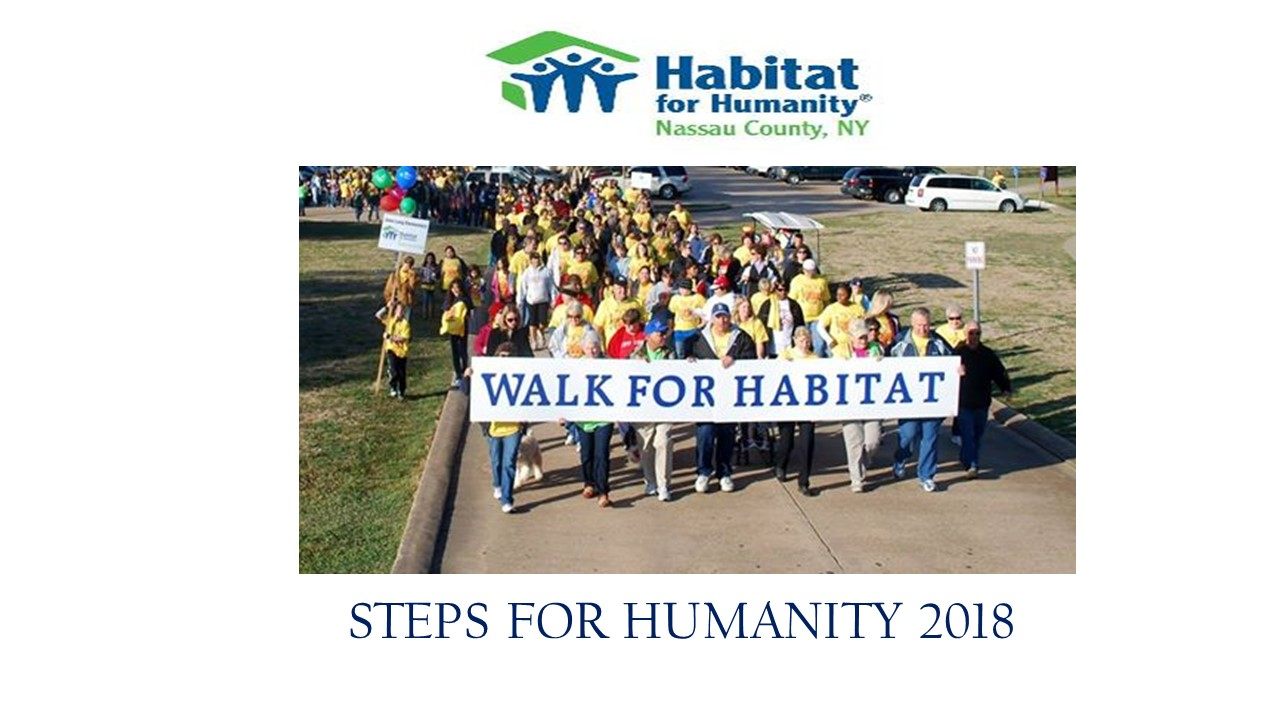 STEPS FOR HUMANITY 2018