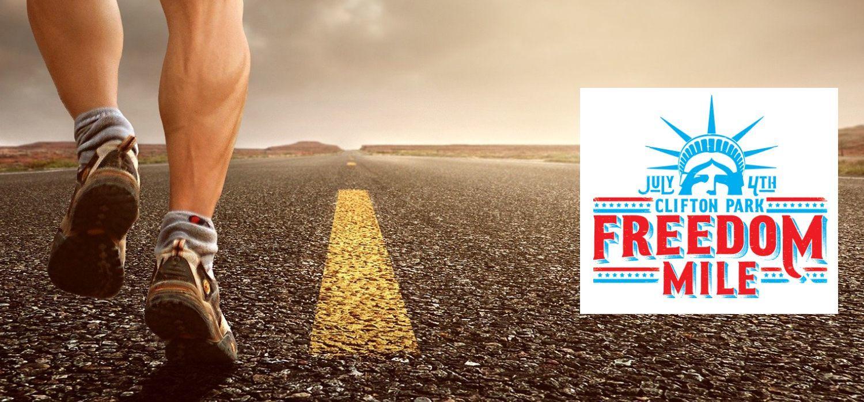 Run the Freedom Mile!