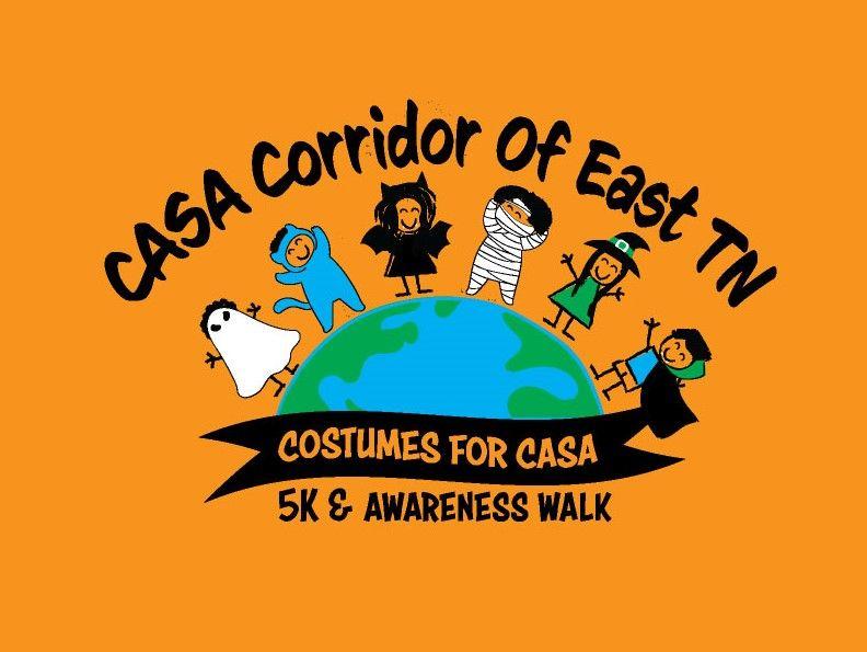 Costumes for CASA 5K and Awareness Walk