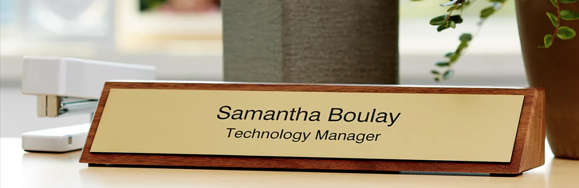 Our Top 5 Office Name Plates