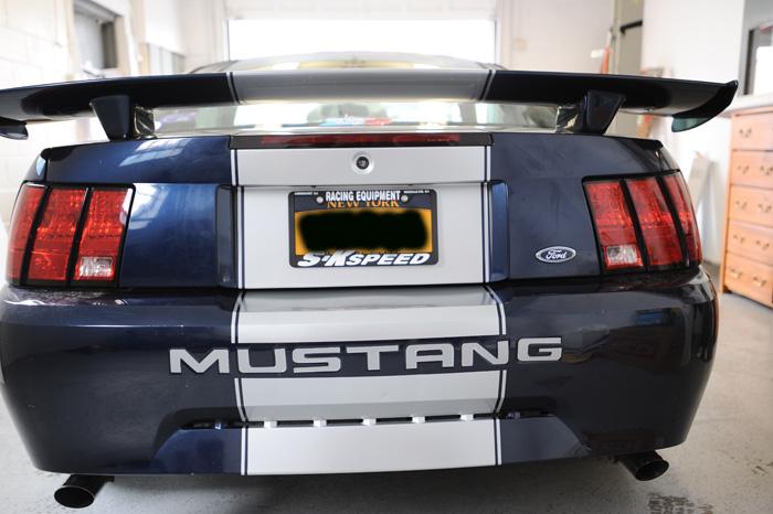 Mustang Custom Wrap