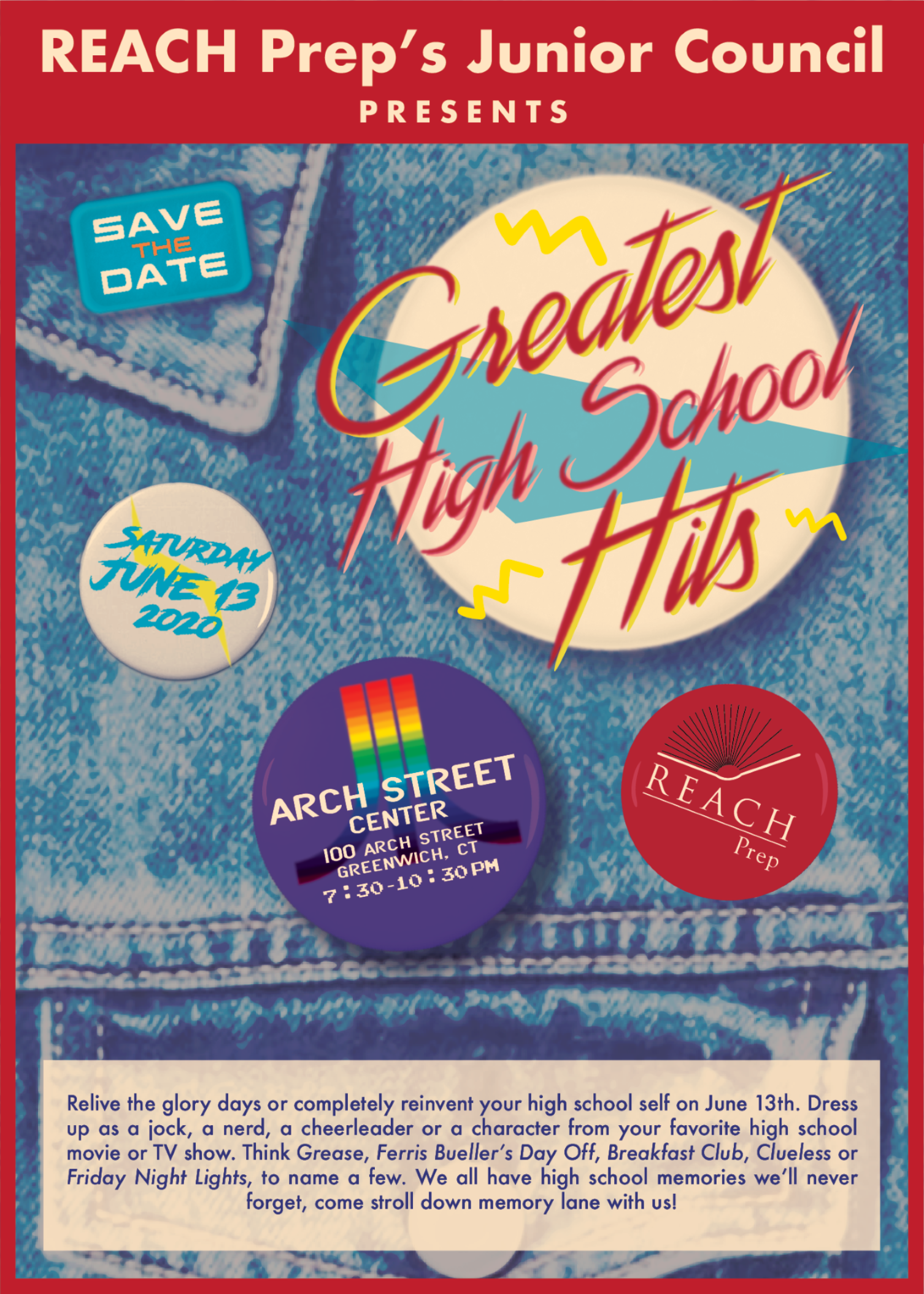 REACH Prep's Junior Council Presents: Greatest High School Hits!