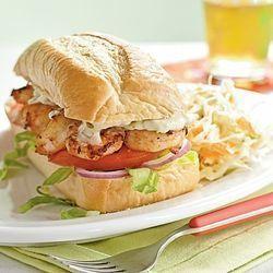 3/1/21: Shrimp Po' Boy Sandwiches