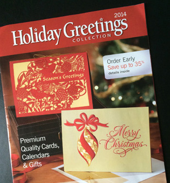 Custom and stock holiday cards cincinnati the holiday greetings catalog offers you exquisite cards and tasteful gifts for every style and budget m4hsunfo