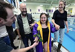 Girls swimming: Woloson making waves for Boulder swimming