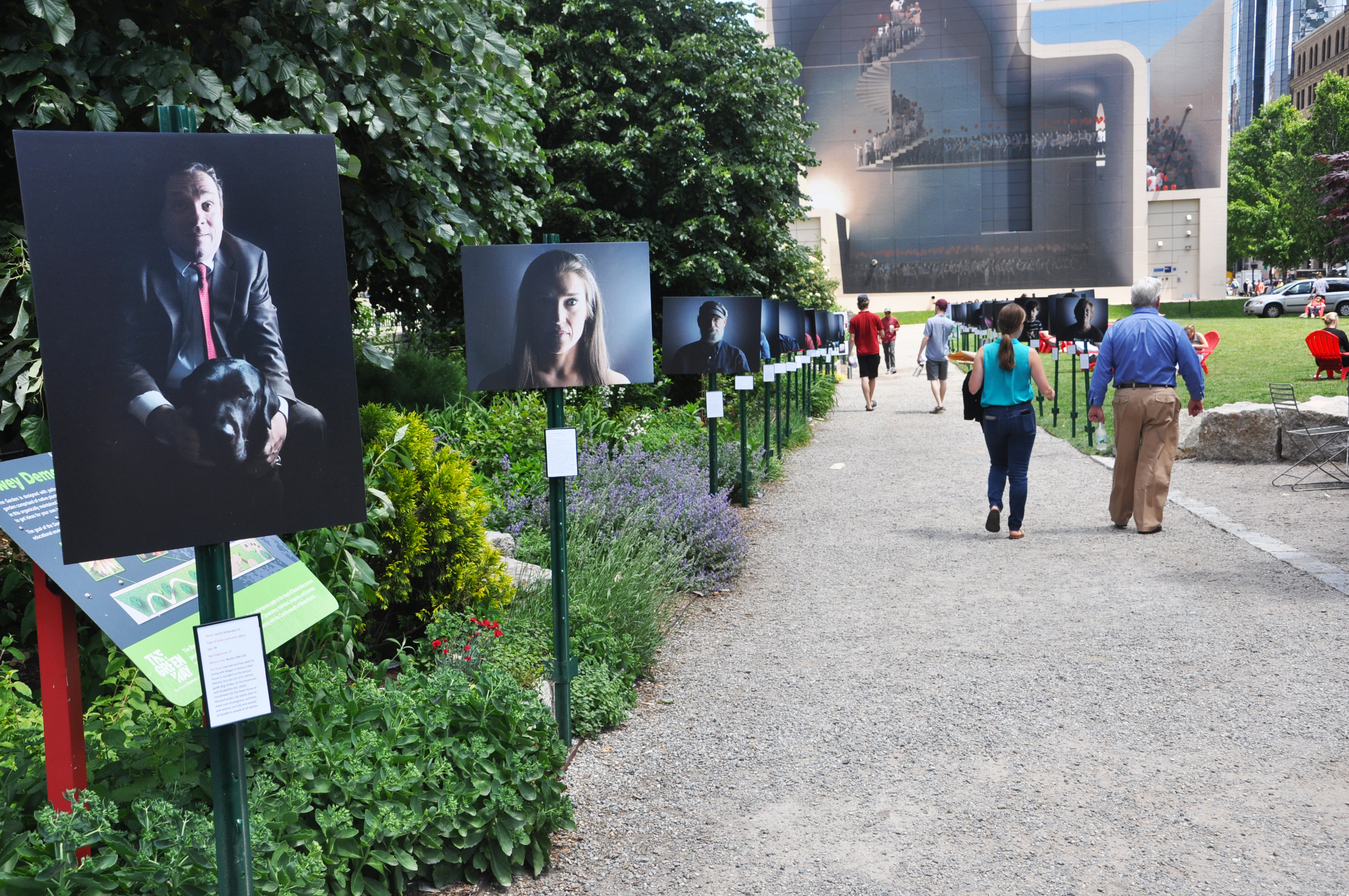 Usher Syndrome Society Summer Solstice Exhibit
