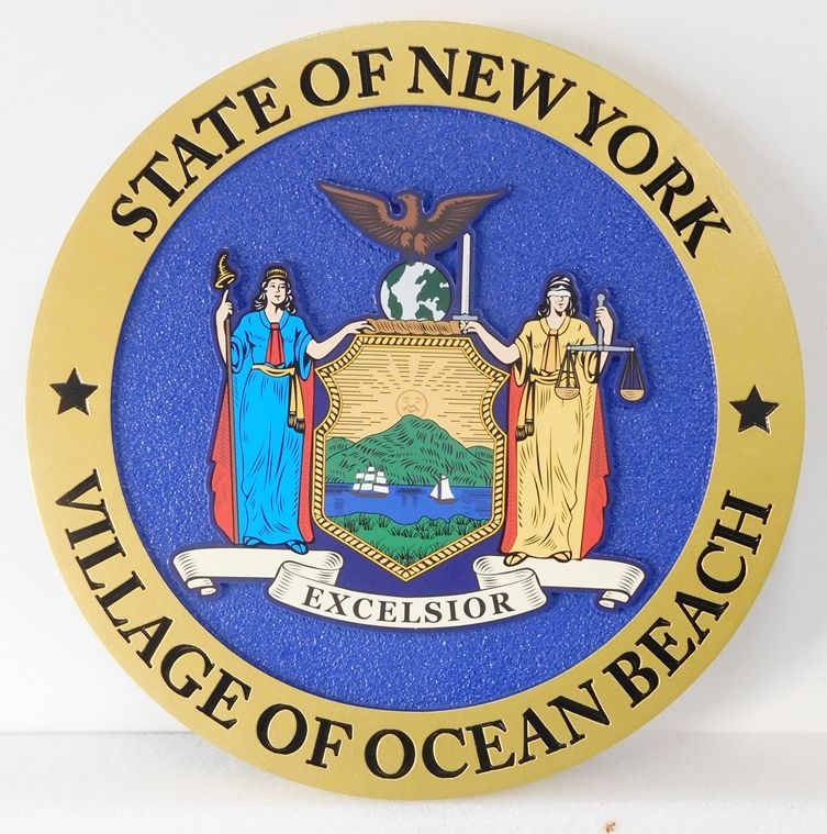 CD9117 - Great Seal of the State of New York