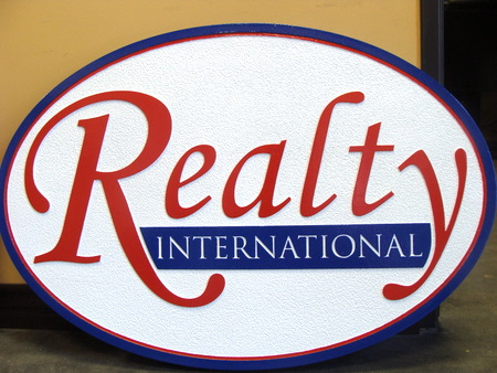 M1016 - Sandblasted Realty Company Sign (Gallery 12)