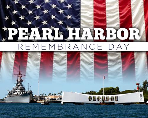December 7, Pearl Harbor Day