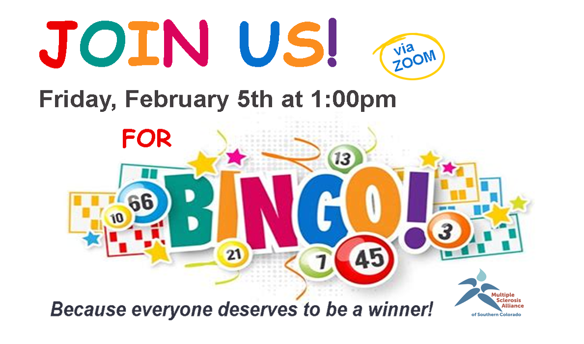 Join Us For Bingo!