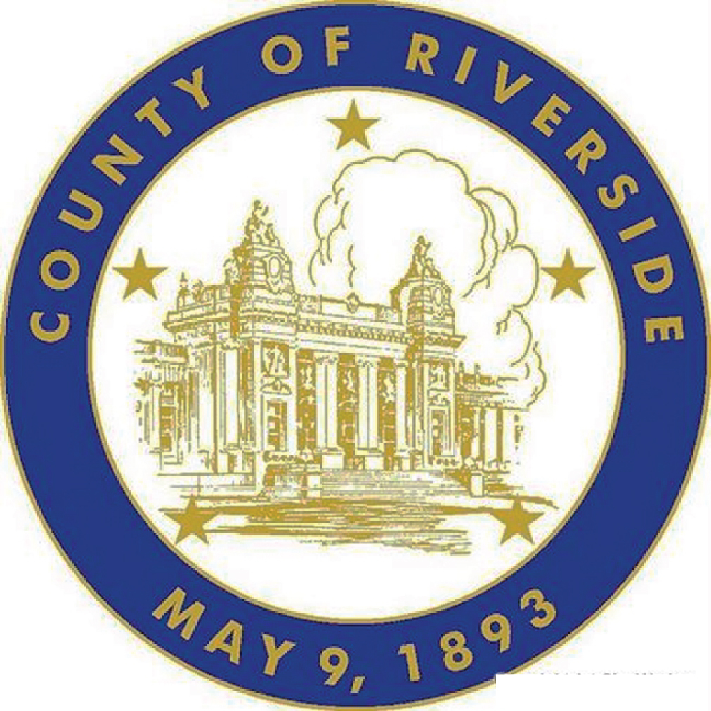 CP-1520 - Carved Plaque of the Seal of Riverside County, California, Artist Painted